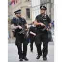 Футболка черная, полиции Великобритании, б/у