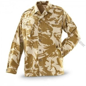 Блуза JACKET, DPM, COMBAT TROPICAL Desert, Б/У