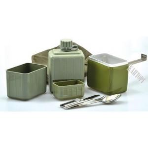 Полевой столовый набор посуды, Югославия б/у