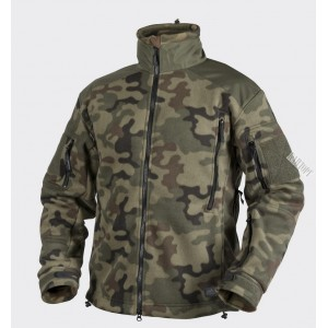 HELIKON-tex флисовая куртка Liberty цвет PL Woodland