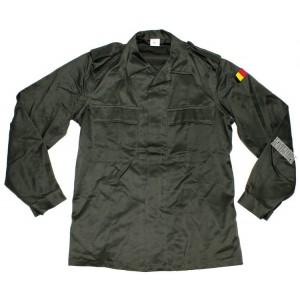 Рубаха полевая Бельгия, олива, НИКН