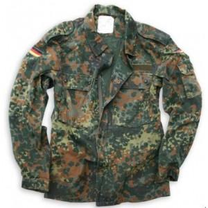Рубаха полевая Бундесвер флектарн, б/у, 2 сорт