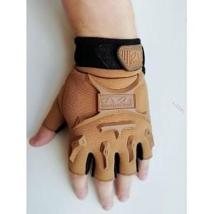 Перчатки тактические без пальцев.