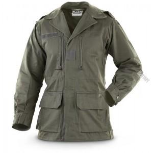 Куртка полевая армии Франции М64, олива.