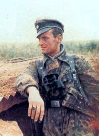 Камуфляж флектарн - Вторая мировая война
