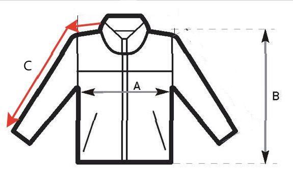 размеры куртки